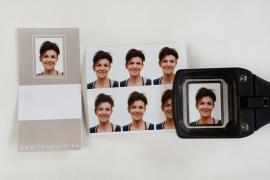 U kunt bij ons terecht voor pasfoto's voor reispas, identiteitskaart, kids-ID, CV, ...